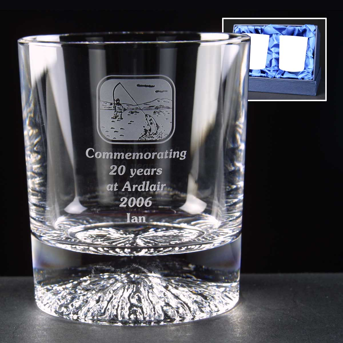 Engraved_golf_award_Alaska_Lead_Crystal_8oz_Whisky_Glasses