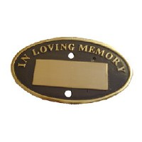Engraved Memorial Signs