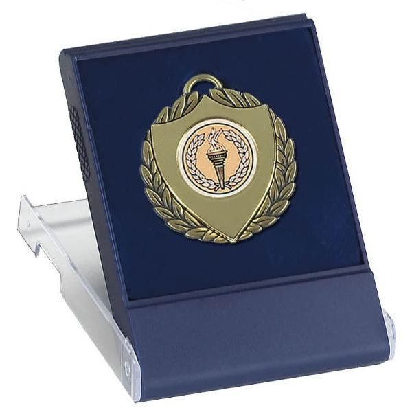 Engraved Medals: Medal Box Clear Top