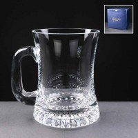 Balmoral glass waisted star based 10oz tankard