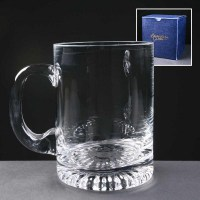 Balmoral glass waisted star based 1 pt tankard