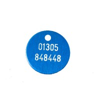 Blue Childs ID Tag