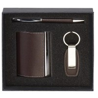Card Case Key Ring Pen