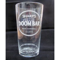 Doom Bar Pint Glass