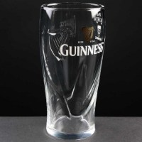 Guinness One Pint Beer Glass