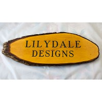 Large Rustic Wooden House Sign