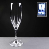 Mondial Champagne Flutes in a Satin Box