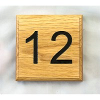 Oak Number Sign