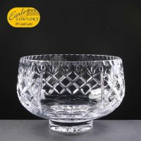 Panelled 24% Lead Crystal Fruit Bowl