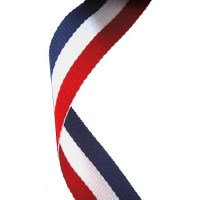 Medal Ribbon (Red, White and Blue)