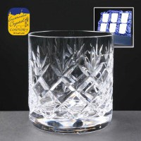 Six Fully Cut 10oz Mixer Glasses