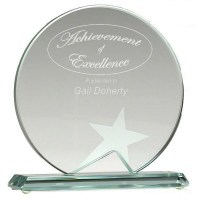 Small Aspire Jade Glass Award