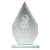 Small Flagstaff Jade Glass Award