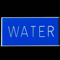 Water Boat Sign